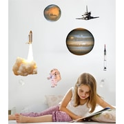 Wallhogs Space Multi-Pack I Wall Decal
