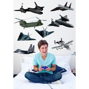 Wallhogs Military Aircraft Multi-Pack II Wall Decal