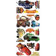 Wallhogs Disney ''Cars'' Piston Cup Champs Cutout Wall Decal