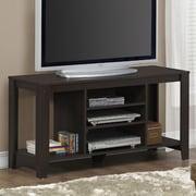 Monarch Specialties Inc. 48'' TV Stand; Cappuccino