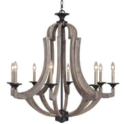 Jeremiah Winton 8 Light Candle Chandelier
