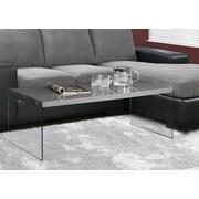Monarch Specialties Inc. Coffee Table; Grey