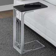 Monarch Specialties Inc. End Table; Black