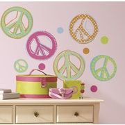Wallhogs Peace Signs Wall Decal