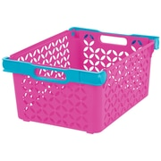 IRIS® Girl's Large Decorative Basket, 8 Pack (250135)