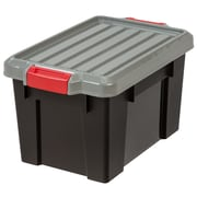 IRIS® 5.25 Gallon Heavy Duty Storage Tote, 4 Pack (251408)