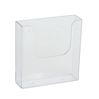 IDL Displays Wallmount Brochure Holder For Literature, Up To 6