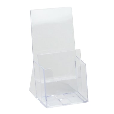 IDL Displays Excelsior Double-Tier Brochure Holder For Literature, Up To 4