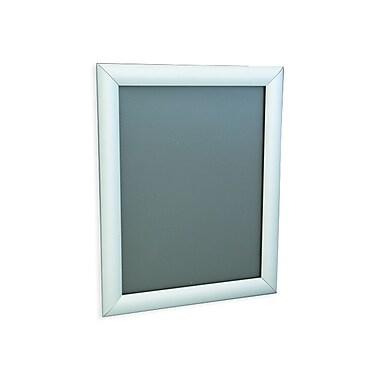 IDL Displays Klik Frame Wallmount, Silver, 24