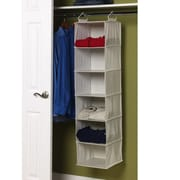 Household Essentials Storage and Organization 6-Shelf Organizer