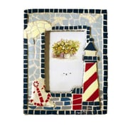 Judith Edwards Designs Mosaic Lighthouse Picture Frame