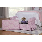 HomePop Juvenile Kids Bedroom Bench w/ Storage Compartment