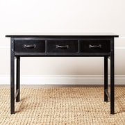 Abbyson Living Lindley Console Table; Black