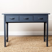 Abbyson Living Lindley Console Table; Blue