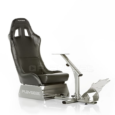 Playseats Evolution Black Gaming Chair; Vinyl\/Silver