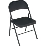 Cosco® All Steel Folding Chair, Black
