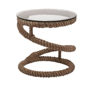 IMAX Bedford Jute Rope End Table