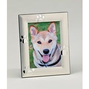 Creative Gifts International Puppy Paw Print Picture Frame; 5'' x 7''