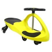 Glopo Joybay Swing Push/Scoot Car; Golden Yellow