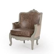 Zentique Inc. Adele Love Arm Chair