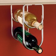 Rev-A-Shelf 2 Bottle Hanging Wine Rack; Chrome