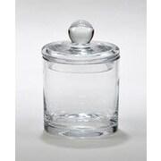 Creative Gifts International Simon 6.5'' Biscuit Barrel Glass