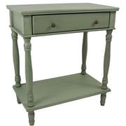 International Caravan Ashbury Console Table; Antique Sage