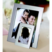 Creative Gifts International Silhouette Picture Frame; 5'' x 7''