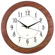 Artistic Products Wood Time 12'' Wall Clock