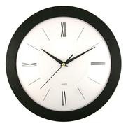 Artistic Products Roman Black 12'' Wall Clock