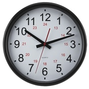 Artistic Products 24 Hour 14'' Wall Clock