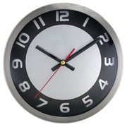 Artistic Products Brushed 9'' Wall Clock
