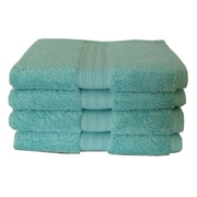 dCOR design Luxury Hand Towel (Set of 4); Blue