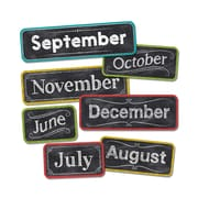 20 inch x 5.25 inch Chalk It Up! Months Of The Year Headlines, Multicolor (CTP1134) by