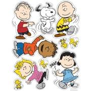 "Eureka Window Clings Peanuts® 12"" x 17"" Classic Characters, Multicolor (EU-836011)"