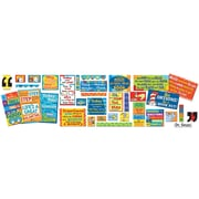 "Eureka Dr. Seuss 24"" x 17"" 35 Quotes Bulletin Board Set (EU-847151)"