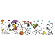 "Eureka Peanuts 24"" x 17"" Fall & Winter Snoopy Poses Bulletin Board Set (EU-847602)"
