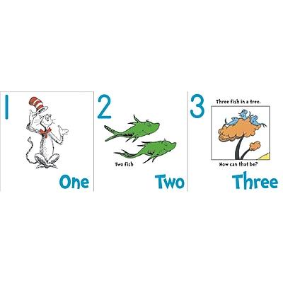 Eureka Dr. Seuss 18 x 12 Numbers 1 20 Bulletin Board Set EU 847641