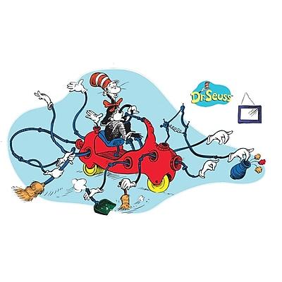 Eureka Dr. Seuss 24 x 17 Giant Cat in Car Bulletin Board Set EU 847674