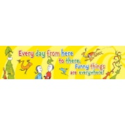 "EUREKA EU-849444 45"" x 12"" Dr. Seuss One Fish Two Fish, Multicolor"