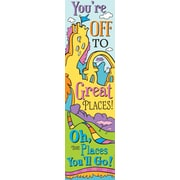 "EUREKA Dr. Seuss 12"" x 45"" Oh the Places, Multicolor (EU-849903)"