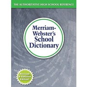 Merriam-Webster's School Dictionary for Grades 9th-11th (MW-6800)