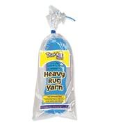 Trait-tex® PAC04213 True Blue 3-Ply Heavy Rug Yarn, 60 Yards