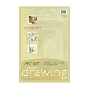 Art1st® Lightweight Drawing Paper, Manila 50 Sheets (PAC103194)