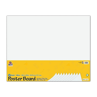 """Pacon®, 22""""x28"""", Poster Board (PAC5420) 