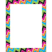 "Terrific Papers® Zigzag Motif 8 1/2"" x 11"" Multicolor, 50 shts (T-11417)"