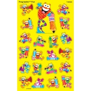 TREND enterprises, Inc. superShapes - Large, Frog-tastic!® Fun stickers, Multicolor, 17 designs, 168 stickers (T-46324)
