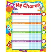 """TREND enterprises, Inc., 8 1/2"""" x 11"""" Owl-Stars!®, Chore Chart, Multi, (T-73140)"""