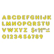 "Ready Letters 4"" Colorful Chrome, Yellow (T-79050)"
