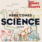 Flipside They Might Be Giants: Here Comes Science Elementary through Middle School 2 Disc Set, CD+DVD, (TAF10243)